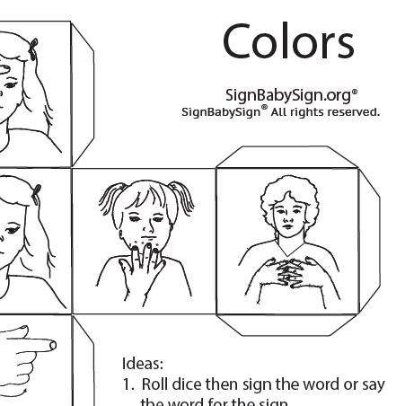 Colors Dice Signs Screen Shot
