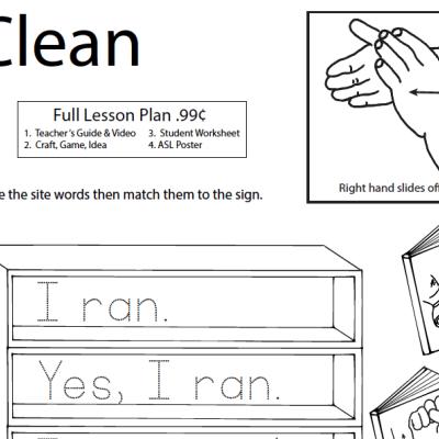 Clean WS ASL Screen