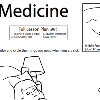 Medicine WS ASL Screen