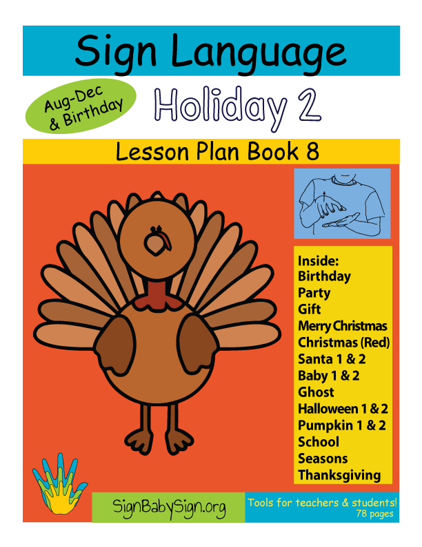 ASL Lesson Plan Book Holiday 2