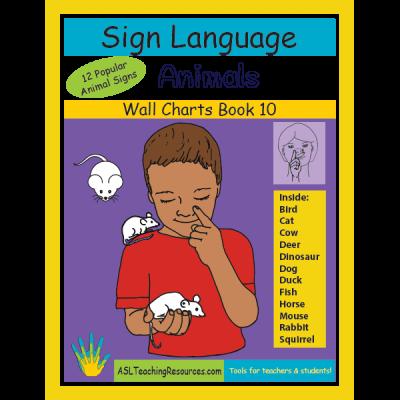 10-WCB-Animals ASL Sign Language