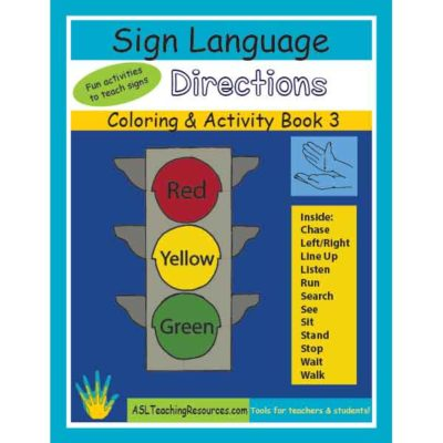 3-CB-Directions ASL Coloring Book