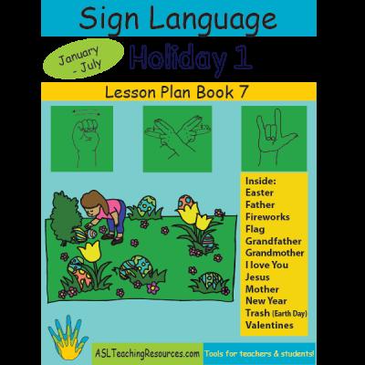 7-LPB-Holiday-1 ASL Lesson Plan Book
