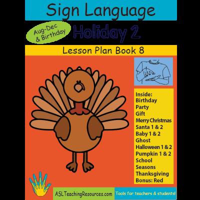 8-LPB-Holiday-2 ASL Lesson Plan Book
