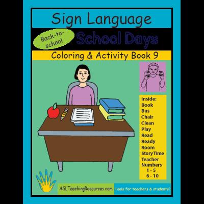 9-CB-School-Days-ASL-Coloring-Book