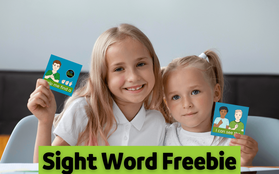 High Frequency Words for Special Education