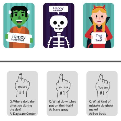 ASL Halloween Cards