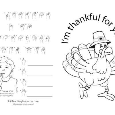 I'm thankful for you B-W sample