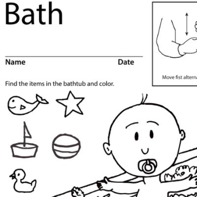 Bath Lesson Plan Screenshot Sign Language