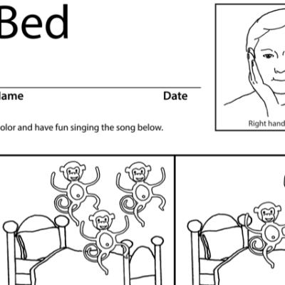 Bed Lesson Plan Screenshot Sign Language