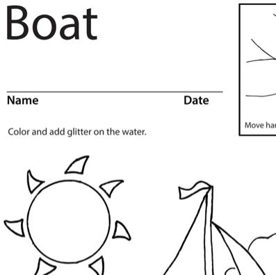 Boat Lesson Plan Screenshot Sign Language