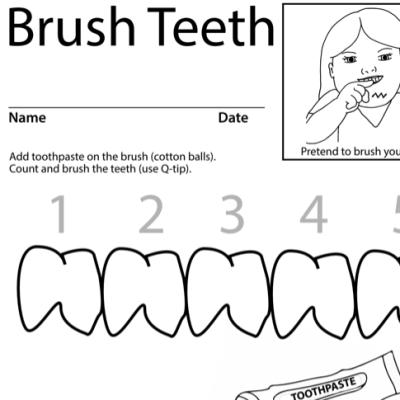 Brush Teeth Lesson Plan Screenshot Sign Language