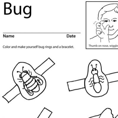 Bug Lesson Plan Screenshot Sign Language