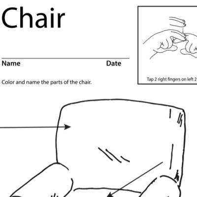 Chair Lesson Plan Screenshot Sign Language