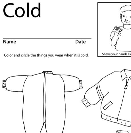 Cold Lesson Plan Screenshot Sign Language