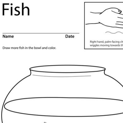 Fish Lesson Plan Screenshot Sign Language