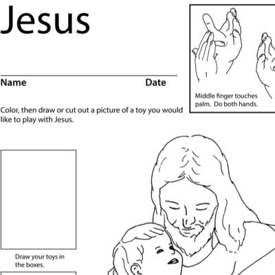 Jesus Lesson Plan Screen Shot Sign Language