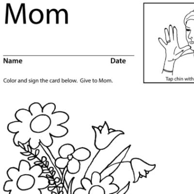 Mom Lesson Plan Screenshot Sign Language