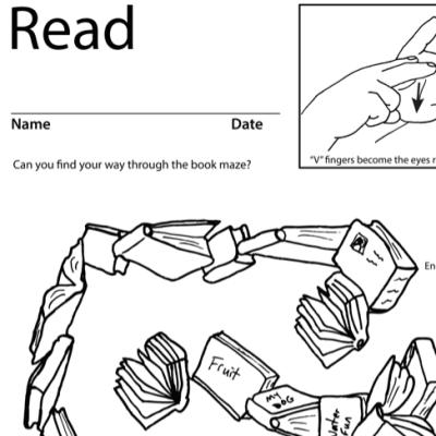 Read Lesson Plan Screenshot Sign Language