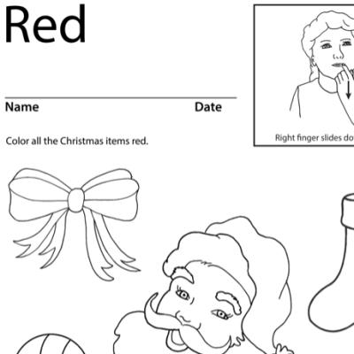 Ready Lesson Plan Screenshot Sign Language