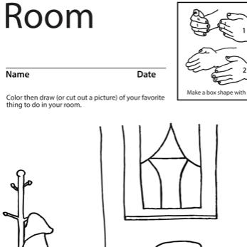 Room Lesson Plan Screenshot Sign Language