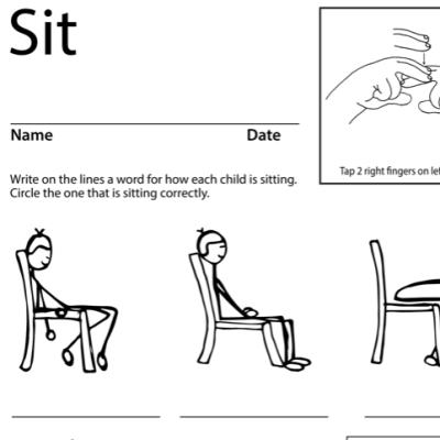 Sit Lesson Plan Screen Shot Sign Language
