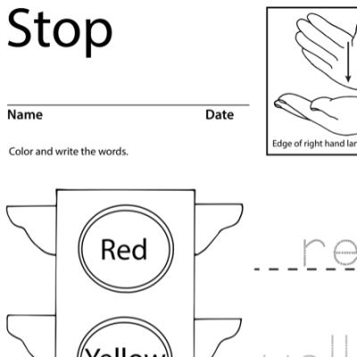 Stop Lesson Plan Screenshot Sign Language