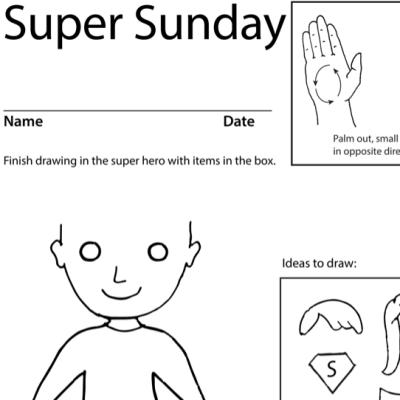 Sunday Lesson Plan Screenshot Sign Language