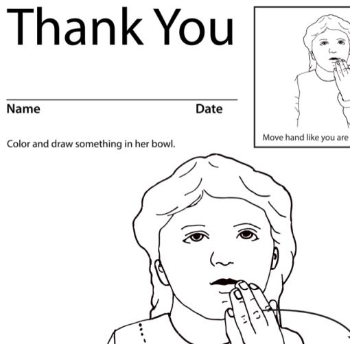 Thank You 1 Lesson Plan Screenshot Sign Language