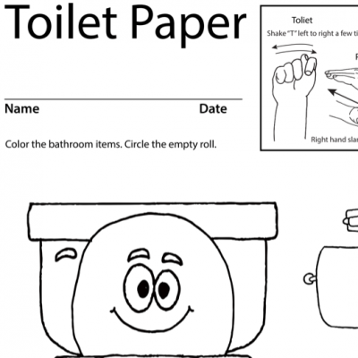 Toilet Paper Lesson Plan Screenshot Sign Language
