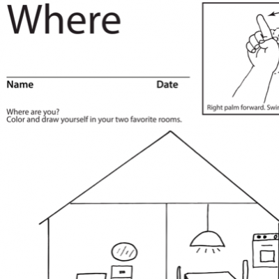 Where Lesson Plan Screenshot Sign Language