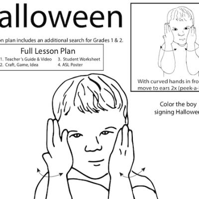 Halloween ASL