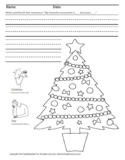 Christmas Tree Coloring Screen Shot