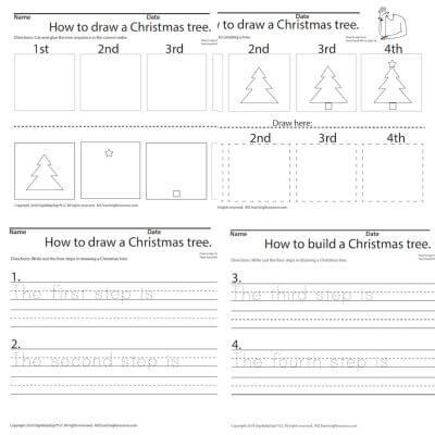 December Sequencing a Christmas Tree ASL Screen Shot