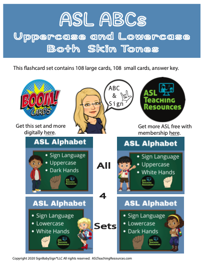 ASL ABC Full Set