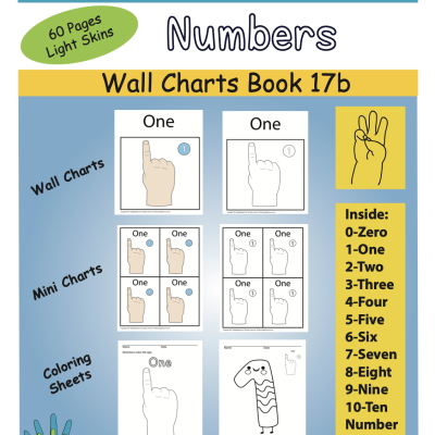 Color Book Front Cover Numbers ASL Light Skin Screen Shot