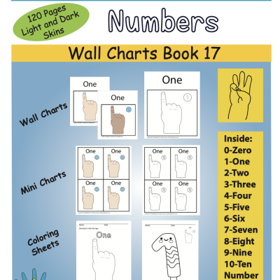 Color Book Front Cover Numbers ASL Master Screen Shot