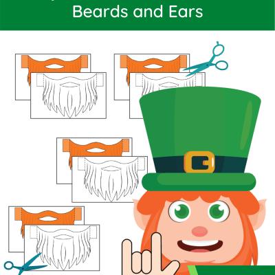 leprechaun-craft-beard-and-ears