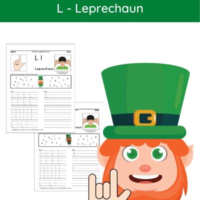 letter-writing-practice-l-leprechaun