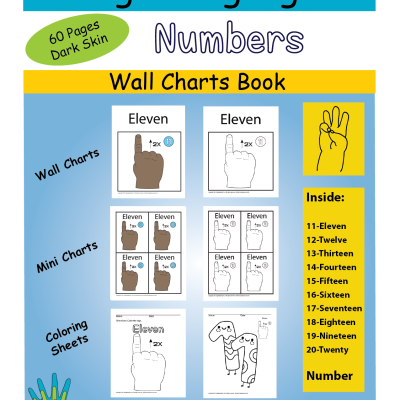 11-20 Wall Chart & Coloring DSkin