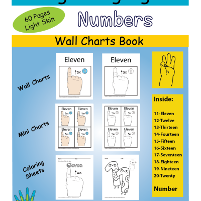 11-20 Wall Chart & Coloring LSkin