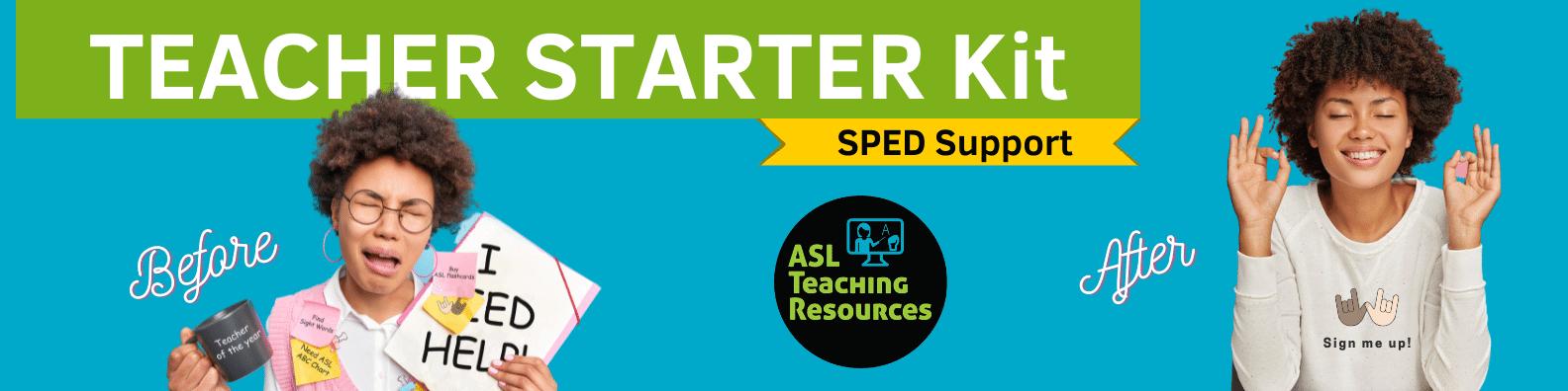 SPED Teacher Starter Kit image