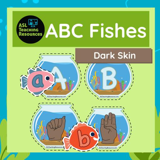 alphabet-matching-uppercase-and-lowercase-asl-dark-skin