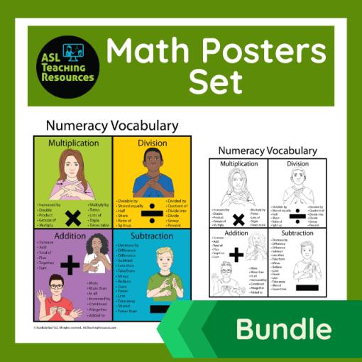 sign-language-posters-set