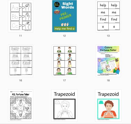 Sample photo of SPED teacher starter kit