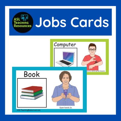 ASL-Jobs-Flashcards