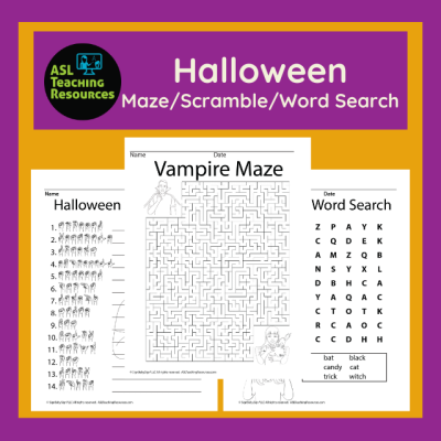 games-for-sign-language-halloween-maze-scramble-word-search